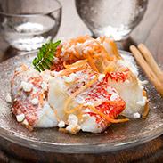 キンキいずし&紅鮭いずしセット〔キンキいずし500g、紅鮭いずし500g〕