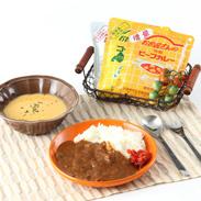 お肉屋さんの特製シリーズレトルトセット ビーフカレー(レギュラー・辛口)&コーンスープ