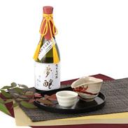 やや辛口の旨味と甘くフルーティーな香り 夢醸 純米大吟醸
