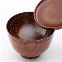 欅のおーるいん椀 II 〔汁椀(11.2×7.3cm)、めし椀(11.3×5.7cm)、小鉢(10.0×3.5cm)、取皿(11.4×1.2cm)〕 石川県 食器 漆器 想贈