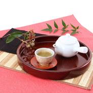 伝統の小田原漆器 『1尺1寸茶盆』