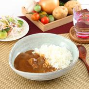 華カレー&牛の華カレー3種6個セット(辛口2、中辛2、牛2)