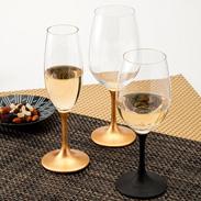 JAPAN Glass(とぎかすり漆/金箔)各SML 山久漆工(株)・福井県