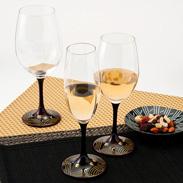 JAPAN Glass(溜漆 波千鳥蒔絵)SML 山久漆工(株)・福井県