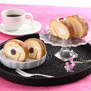 やさしい甘さの 薔薇のロールケーキ・あんろーるケーキセット 有限会社平野屋・岐阜県