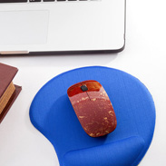変わり塗りうるしの上品な光沢 うるしマウス 朱金
