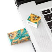 九谷焼USBメモリ 吉田屋風葵 朝日電機製作所・石川県