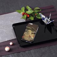 高盛り蒔絵iPhone6カバー 山水