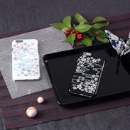 iPhone6カバー 高盛り蒔絵 桜|朝日電機製作所・石川県