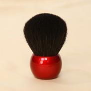 熊野化粧筆メイクブラシ・フェイスパウダーブラシ【高級山羊】<カブキブラシ><きのこブラシ>