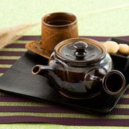こだわりの使いやすさ 益子焼茶器(急須)