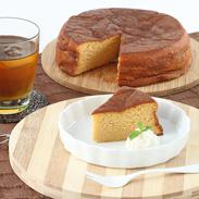 しっとりとろける食感 パテシェ40年の歴史・塩キャラメルバターケーキ