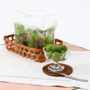 若桃の甘露煮5袋入り あぶくま食品 福島県産のジューシーな若桃 種までサクサクッと美味しく食べられる