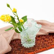 贈りものにも最適! デザイン性の高い花瓶 フリットVASE M