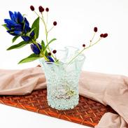 贈りものにも最適! デザイン性の高い花瓶 フリットVASE L