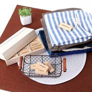 たんすの衣類を虫からブロック  マジックスブロックでブロック18個組 木箱入
