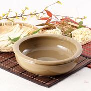 手作り麺・ピザ生地が美味しく仕上がる こね鉢 27白 石見焼
