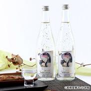 うる星やつらラムちゃんの金箔入吟醸酒2本セット  ふじの井酒造株式会社・新潟県