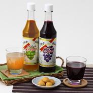 田所食品 宮城県 ストレート果汁100%ジュース マルタのきぶどう白ぶどう2本セット〔各600ml〕