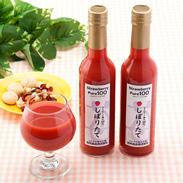 果汁100%! 苺の味がそのままジュースに ストロベリーピュア 300ml2本詰 田所食品・宮城県