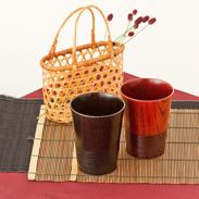欅の天然木を生かした山中漆器伝統の技とこだわり「伝」 東出漆器店・石川県
