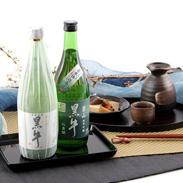 紀州の地酒「黒牛」の純米酒と純米吟醸酒  黒牛 飲み比べ720ml ギフトセット