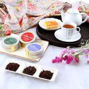 ロイヤルギフトBOX インド三大紅茶3缶セット サロン・ド・カフェ よしだ 茨城県