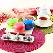 紅茶スペシャルセレクト  マカロン缶ギフトBOX  ティーバッグ3缶セット サロン・ド・カフェ よしだ 茨城県