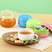 紅茶スペシャルセレクト マカロン缶ギフトBOX レディティーバッグ3缶セット〔3種各7包〕