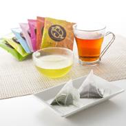 Satsumarcheアソート49P 鹿児島製茶株式会社 鹿児島県 紅茶や緑茶など、カラフルな7種のティーバッグ詰め合せ