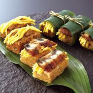 福岡県柳川伝統の味 炙りうなぎ笹めし・ はかた地どり笹めし詰合せ