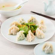 本場の味をそのままに。王さんの水餃子 神戸・南京町『上海餃子』 水餃子7種30個盛り合わせ