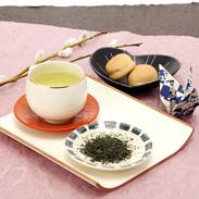 宇治の茶の老舗 堀井七茗園 宇治新茶 「さみどり(和紙袋入り)」