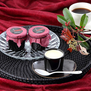 なめらかな食感 ブラウンスイス乳黒陶器入りプリン 十勝ドルチェ・北海道