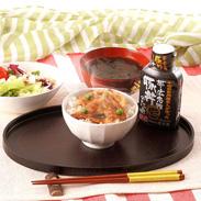 本場帯広の味が味わえます  かみこみ豚 豚丼セット(薄め)