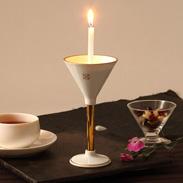 有田焼の特徴透き通る白さが美しい 有田焼燭台 白磁