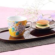 人気の四季の花シリーズ 四季の花 紫陽花 マグカップ