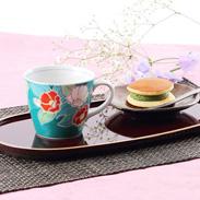 人気の四季の花シリーズ 四季の花 椿 マグカップ
