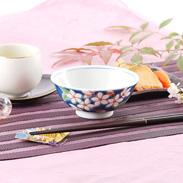 四季の花 桜飯碗|株式会社九谷陶泉・石川県