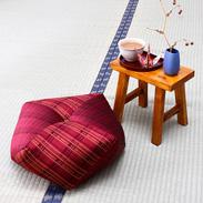 インテリアのワンポイントになる  高級絹織物・西陣織  西陣織おじゃみ座布団