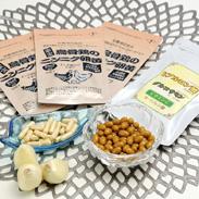 美容と健康セット(胃で溶けるタイプ) 株式会社健康クラブ 鹿児島県 JAS認定有機栽培ニンニクを使用したニンニク卵黄とヒアルロン酸のセット。