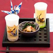 世界に誇るべき工芸文化 140ml蒔絵入りビアグラス