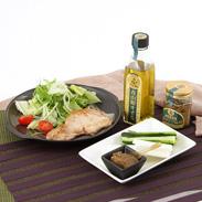 青山椒オイルと天狗枝豆味噌セット シェモア ピリッと料理のアクセントに。