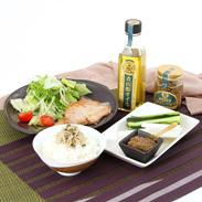 ピリッと料理のアクセントに 青山椒オイルセット (みそ・釜あげしらす)