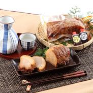 焼き豚P がっつりジューシーなバラ肉とあっさりヘルシーな 焼豚セット(バラ肉・モモ肉)