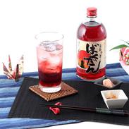京都のキングオブB級カクテル 京都赤酒ばくだん(720ml)