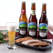 国際ビール大賞2004で金賞受賞 やくらいビール&ソーセージセット