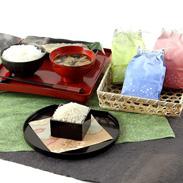 もちもちで冷めても美味しい 魚沼産コシヒカリ惣五郎3合袋3個入りギフトパック