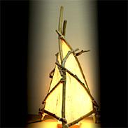 和みの灯り(なごみのあかり)照明つき