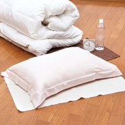 綿100%素材!ソフトな肌触り ノマディアン〈新疆綿〉枕カバー (M)